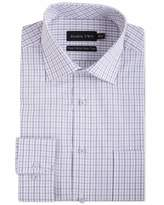 Men's Double TWO 100 Cotton Check Formal Shirt