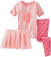 Osh Kosh Girls 4-12 Ballerina Pajama Set