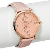Xhilaration Women's Pink Strap Watch with Rose Gold Bezel