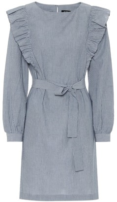 A.P.C. Tess striped cotton dress