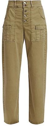 Frame Safari Wide-Leg Trousers