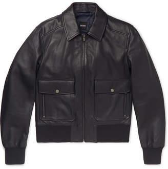 HUGO BOSS Gonel Leather Jacket