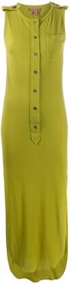 Romeo Gigli Pre-Owned 1990s Buttoned Midi Dress