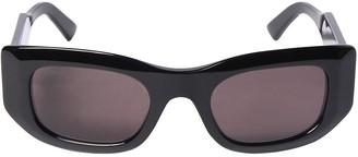 Balenciaga Blow 0121s Rectangle Acetate Sunglasses