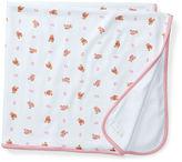 Ralph Lauren Pink Bear Reversible Blanket