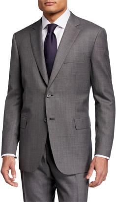 Brioni Men's Sharkskin Two-Piece Wool Suit