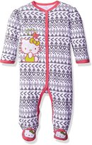 "Hello Kitty Baby Girls' ""Pueblo"" Footed Coverall"