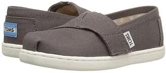 Toms Kids Alpargata 2.0 (Infant/Toddler/Little Kid) (Ash Canvas) Kid's Shoes