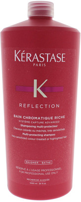 Kérastase 34Oz Reflection Bain Chromatique Riche Multi-Protecting Shampoo