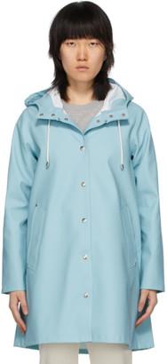 Stutterheim Blue Mosebacke Raincoat