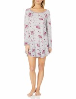 Thumbnail for your product : Karen Neuburger Women's Long Sleeve Nightshirt Nightgown Pajama Dress Pj