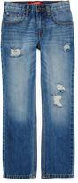 Arizona Flex Straight-Fit Jeans - Boys 8-20, Slim and Husky