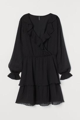 H&M Plumeti Chiffon Dress
