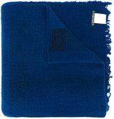 Faliero Sarti fringed edge scarf - women - Viscose/Cashmere/Wool/Polyimide - One Size