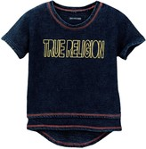 True Religion Layered Dolman Tee (Toddler & Little Girls)