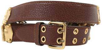 Miu Miu Brown Leather Belts