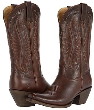 Ariat Circuit Salem (Iron Brown) Cowboy Boots