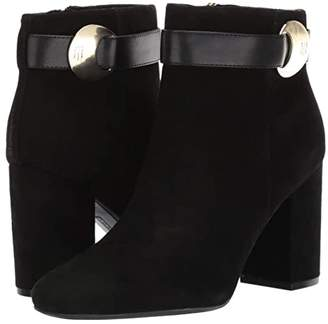 Tommy Hilfiger Carlyle (Black Suede) Women's Shoes