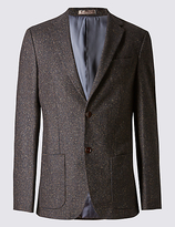 Collezione Tailored Fit 2 Button Jacket Jacket With Buttonsafetm