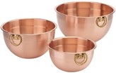 Cuisinart 3-pc. Copper Mixing Bowl Set