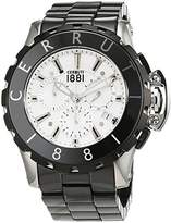 Cerruti Men's Analogue Quartz Watch, Ceramic CRA078E219H