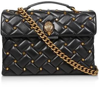 Kurt Geiger Leather Kensington X Stud Shoulder Bags
