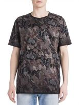 Valentino Japanese Butterfly Printed Tee