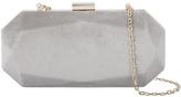 Accessorize Lindsay Velvet Hardcase Clutch Bag