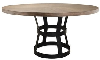 Worlds Away Dining Table Base Color: Black