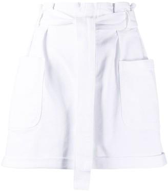 RED Valentino Paperbag Short Shorts