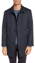 Rodd & Gunn Men's 'Garlands' Herringbone Wool Tweed Overcoat