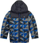Armani Junior Reversible Graphic Puffer Jacket