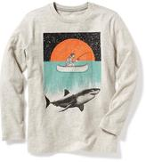 Old Navy Graphic Crew-Neck Tee for Boys