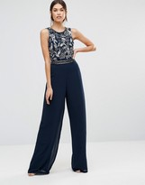 Maya Tall Jumpsuit With Embellished Top