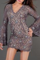 Jovani Long Sleeve Dress