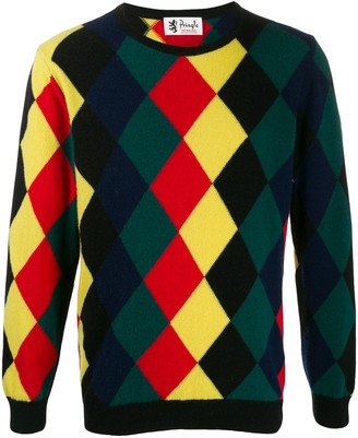 Pringle Reissued diamond knit jumper