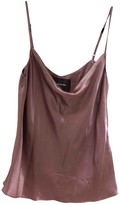 Reformation Pink Silk Top for Women