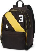 Ralph Lauren Large Banner-Striped Backpack