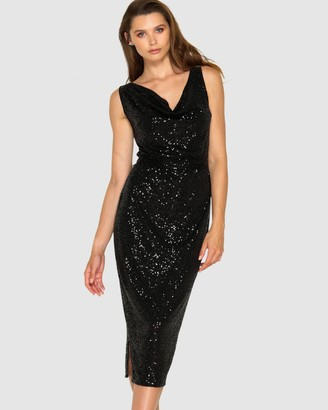 SACHA DRAKE - Women's Black Dresses - Martinique Dress - Size One Size, 14 at The Iconic
