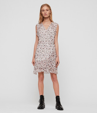 AllSaints Priya Freefall Dress