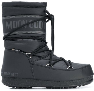 Moon Boot Lace-Up Snow Boots