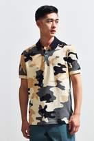 Lacoste L!ve Camouflage Pique Polo Shirt