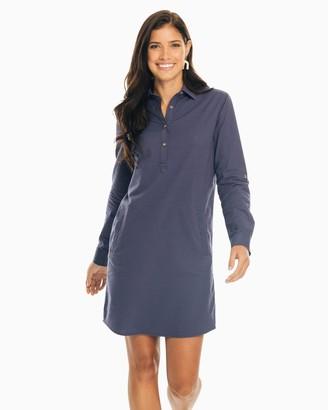 Southern Tide Alyssa Seersucker Shirt Dress