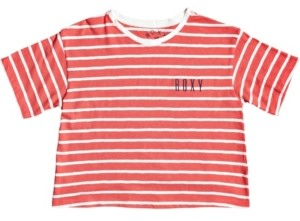 Roxy Big Girls In My Life Cropped Tee