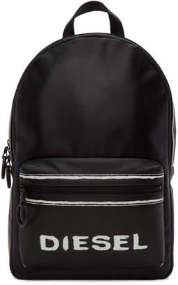 Diesel Black Asporty Este Backpack