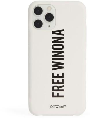 Off-White Free Winona iPhone 11 Pro Case