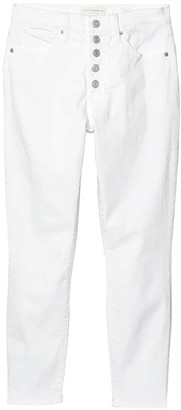 Lucky Brand High-Rise Bridgette Skinny Jeans in Clean White (Clean White) Women's Jeans