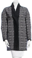 Etoile Isabel Marant Abstract Patterned Coat