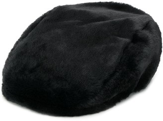 DSQUARED2 Faux Fur Flat Cap