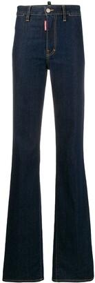 DSQUARED2 Dalma Angel straight-leg jeans